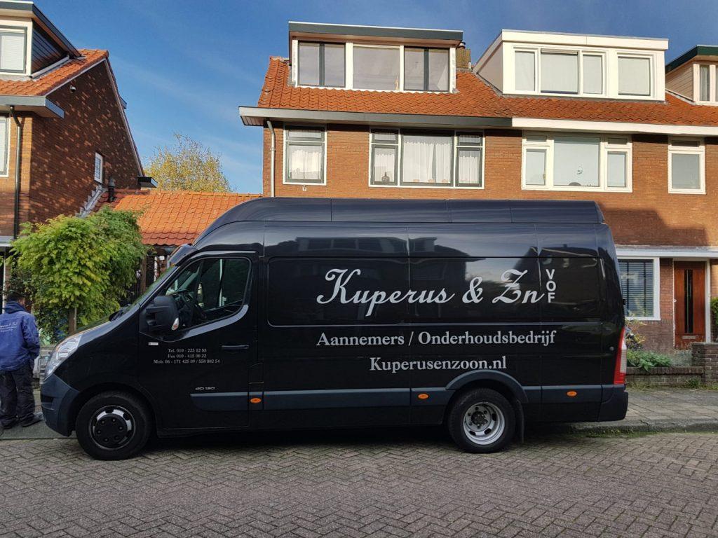 Kuperus afbeelding bus Rotterdam aannemer